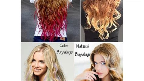 the difference between foiling balayage ombre and the difference between balayage and ombre youtube