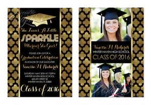 eccentric designs by latisha horton new graduation invitations