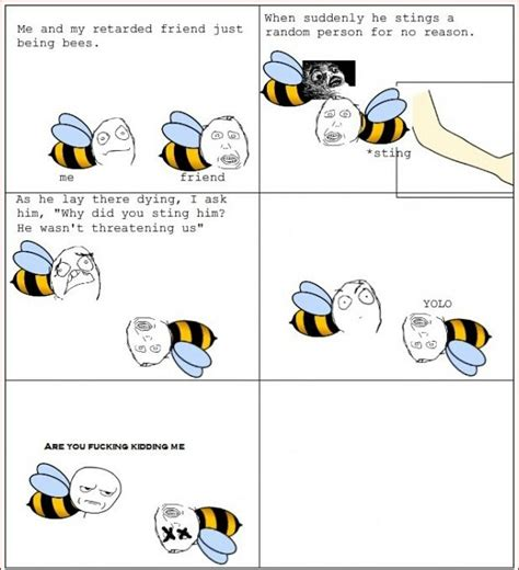 Bee Meme - bee vs wasp meme center picture