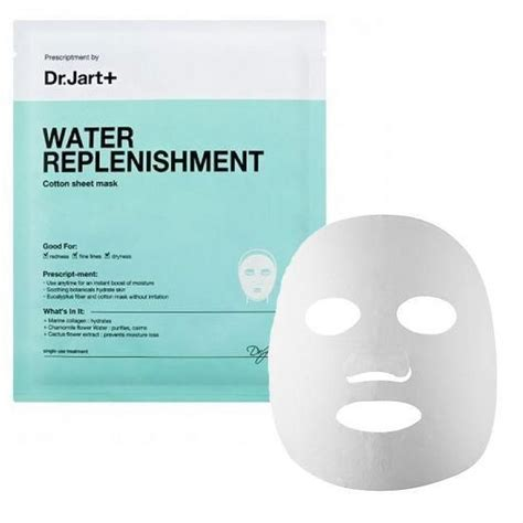 cotton sheet reviews dr jart water replenishment cotton sheet mask reviews