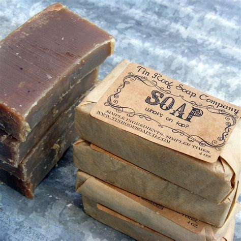 Handmade Soap Labels - soaps packaging and on