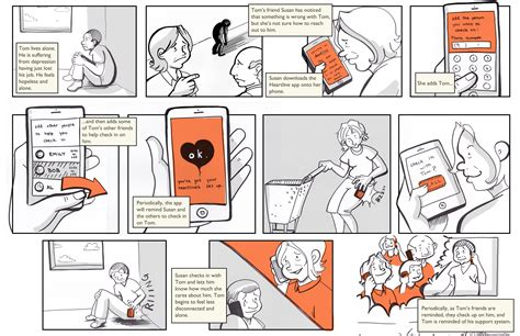 layout storyboard heartline a lifeline to your loved ones storyboard