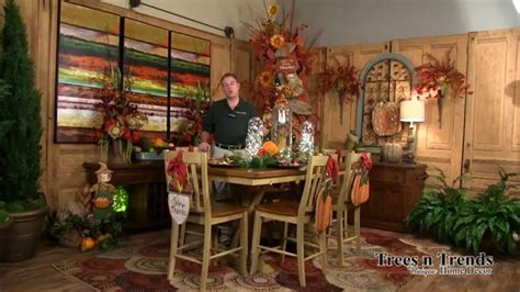 how to make fall decorations at home fall decorating ideas how to decorate for autumn youtube