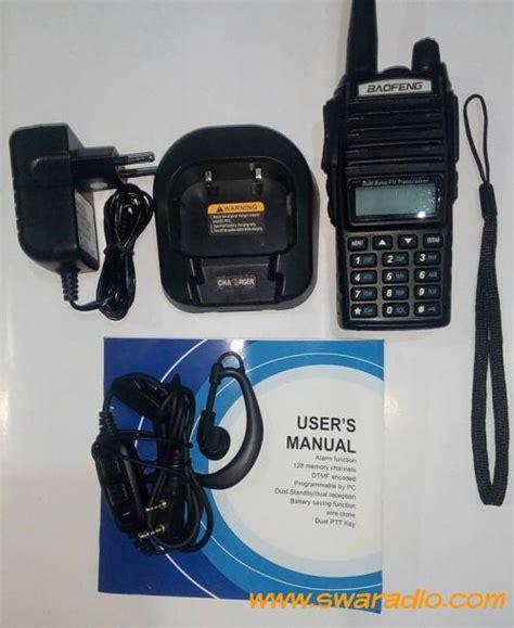 Antena Ht Smp 468 Vhf dijual baofeng uv 82 mulus kecuali antena rx tx normal