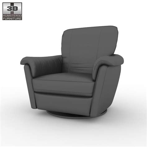 ikea swivel armchair ikea alvros swivel armchair 3d model humster3d