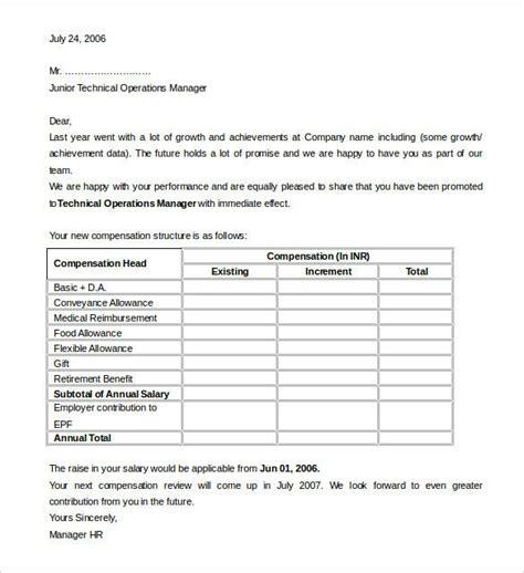 sample appraisal letters