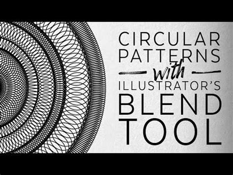 circular pattern in ai videos adobe and the o jays on pinterest