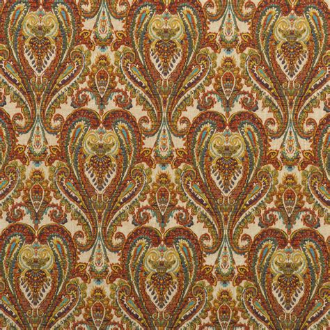 paisley upholstery fabric uk buy mulberry home fd728 y101 bohemian paisley fabric