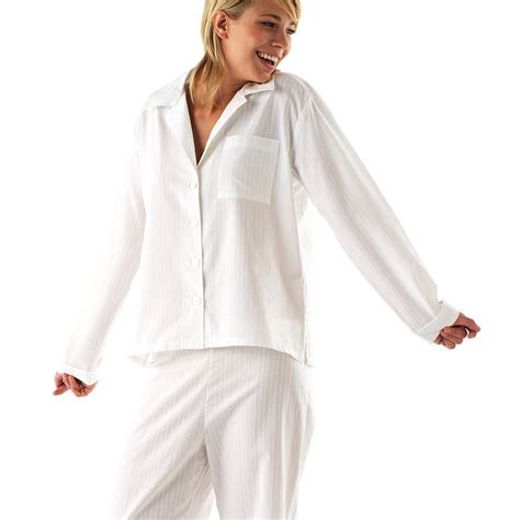 best cotton white cotton pajamas womens breeze clothing