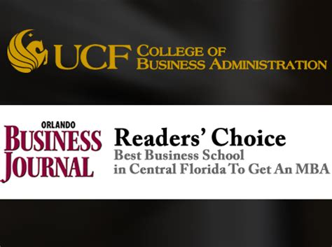 Best Place To Do Mba by Obj Readers Say Ucf Best Place To Get Mba Ucf News