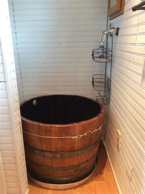 barrel bathtub 12 ingenious tiny house design features we love tiny