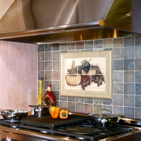 Kitchen Gun Vine Crafted Fruit Of The Vine Kitchen Mural By Untapped Resource Custommade