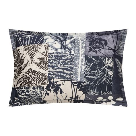 Patchwork Pillowcase - clarissa hulse indigo patchwork pillowcase times