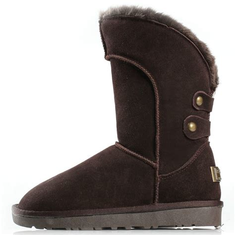 winter boots on sale for leather new black evening mid calf snow