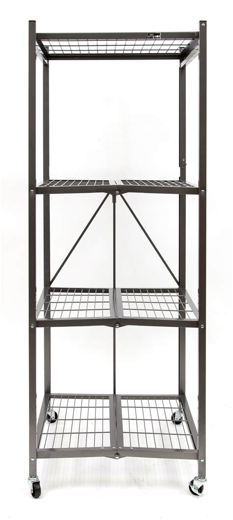origami r5s pewter heavy duty square rack pewter