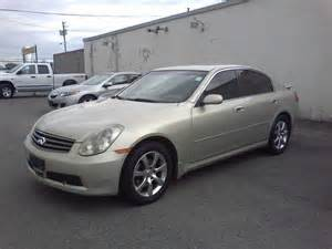 2005 Infiniti G35 Sedan 2005 Infiniti G35 X G35x Sedan Ottawa Ontario Used Car