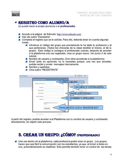 tutorial de edmodo pdf tutorial de edmodo para alumn s