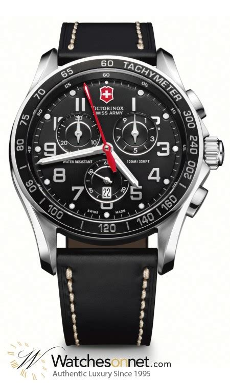 Swiss Army Date Leather Original victorinox swiss army chrono classic 241444 s