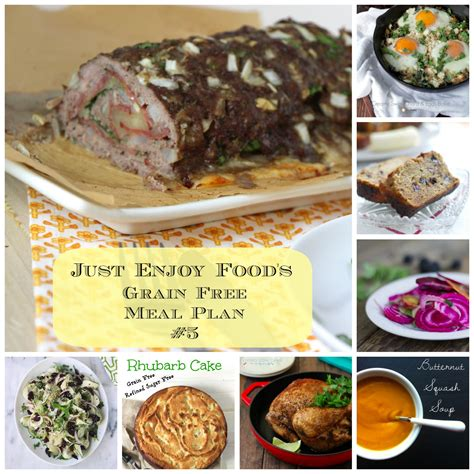food grain free just enjoy food s grain free meal plan 5 meghan birt