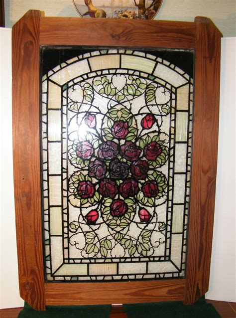 Antique Stained Glass Door Antique Vintage Stained Glass Window Door Panel Design Furnit