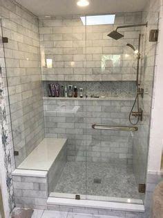diy bathroom tile ideas 2018 details photo features castle rock 10 x 14 wall tile with glass horizons arctic blend 3 4 x