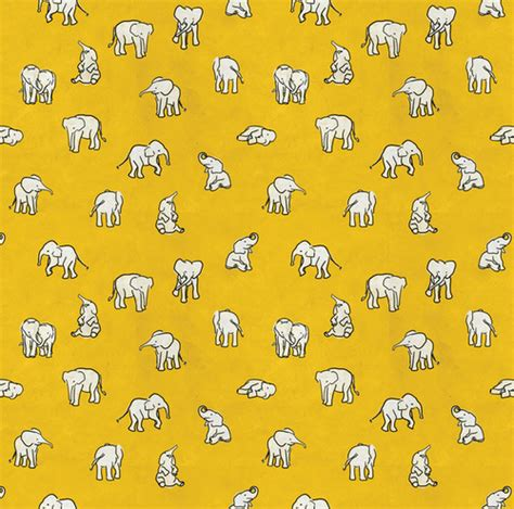 pattern elephant background orange elephant background we heart it elephant