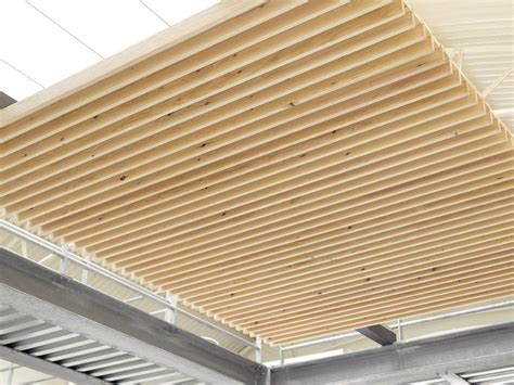 controsoffitto legno pannelli per controsoffitto in legno nodoo