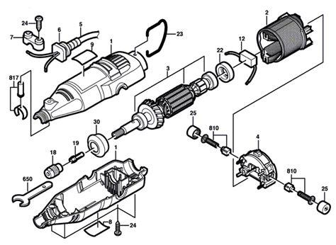 dremel parts diagram buy dremel 275 f013027500 replacement tool parts