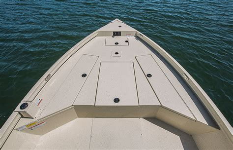 deck boat with center console crestliner s best center console aluminum boats the bay