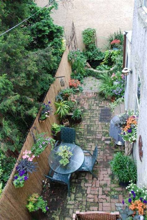 Narrow Backyard Design Ideas Clever Design Outdoor Spaces And Narrow Garden On Pinterest