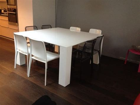 table carree salle a manger table salle manger carree blanche