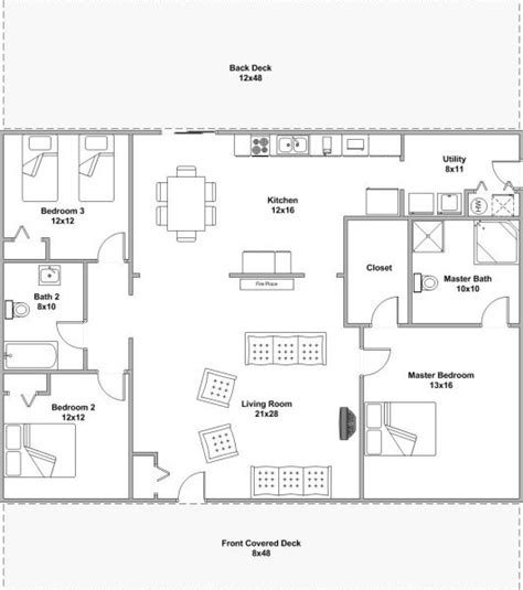 bunkhouse floor plans bunkhouse cabin willowbrook cabin rentals southern illinois lodging