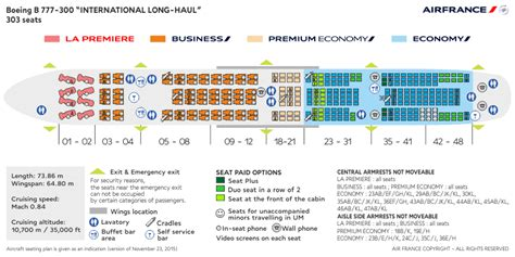 Cabin Layouts Plans cabin layouts air france