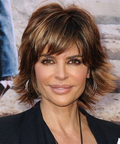 brunette womens shaggy layered short haircuts lisa rinna hairstyles in 2018