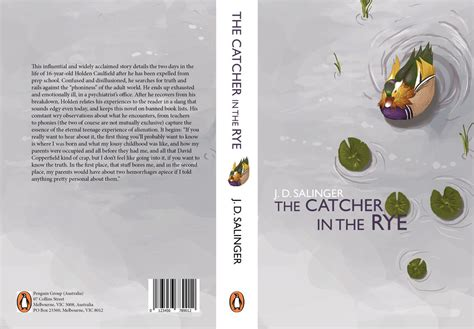 book cover series catcher in the rye by jeffchendesigns