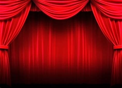 red theater curtains red theater curtains dark brown hairs