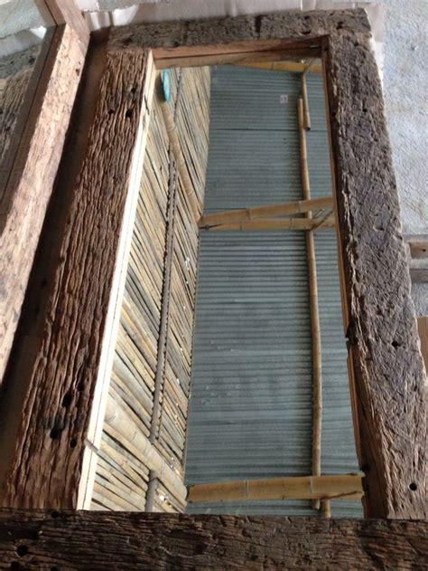 recycled railway sleepers mirror frames java recycled