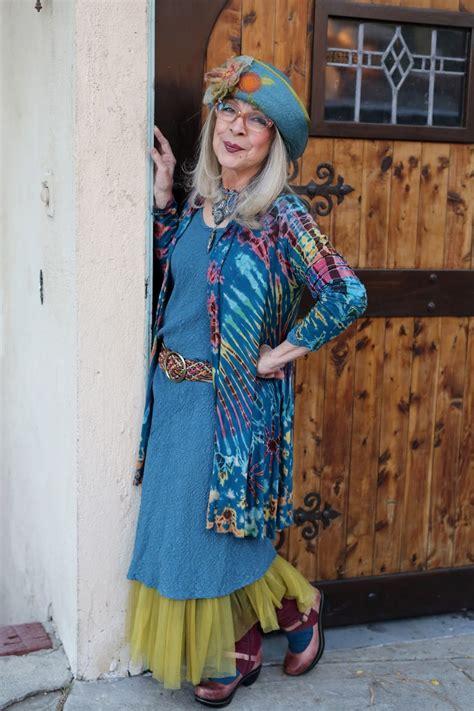 bohemian style clothing for older women kathleen advanced style