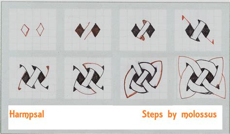 doodle draw step by step imitates doodles july 2010