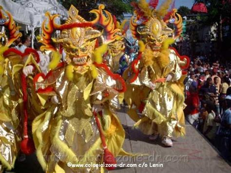 the domincan carnival is a month long celebration in
