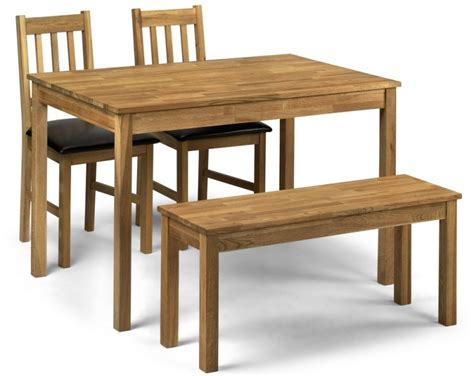 table and bench sets abdabs furniture coxmoor oak dining table bench set