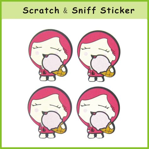 Custom Scratch And Sniff Stickers custom smell scratch and sniff sticker scratch and sniff