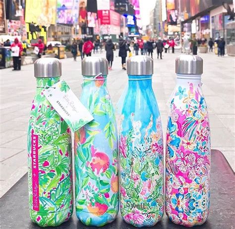 lilly pulitzer starbucks swell bottle 17 best ideas about swell water bottle on