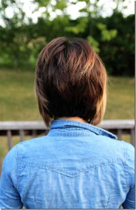 graduated bob haircut front and back views back view of short hairstyles 2013 html autos post