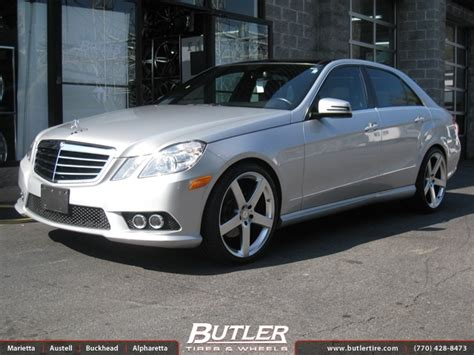 mercedes  class   tsw rivage wheels exclusively  butler tires  wheels  atlanta