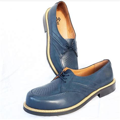 Navy Blue Leather by Satellite Navy Blue Leather