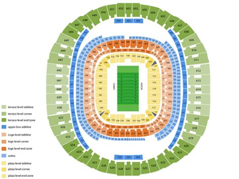 mercedes dome new orleans seating chart mercedes superdome seating chart and tickets