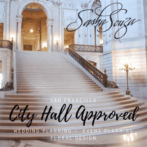 San Francisco City Hall Wedding Planner   Sasha Souza Events