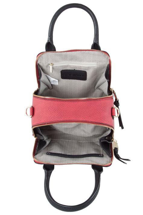 Steve Madden Crossbody Bags For by Steve Madden Bbaldwin Colorblock Mini Crossbody Satchel Bag Black Multi Ebay