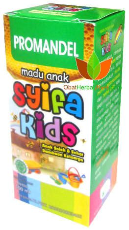 Syifa Amandel promandel madu anak syifa herbal indo utama obat
